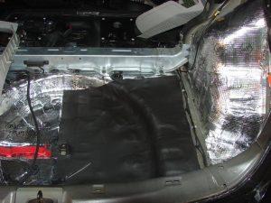 Sada odhlučnenia – celé auto Interiér