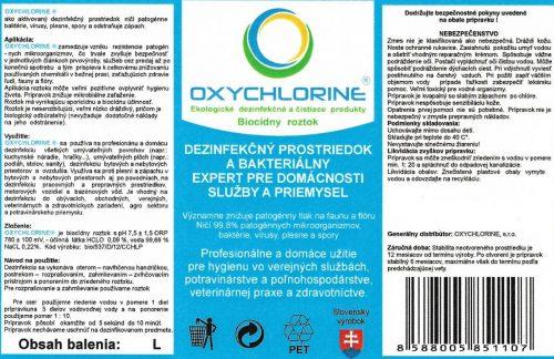OXYCHLORINE profi dezinfekcia 1L Pomôcky / Príslušenstvo [tag]