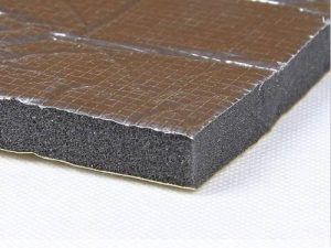 LT20 ALU – Pena motorovej časti s hliníkovou fóliou 0,5m² Odhlučnenie a tlmenie [tag]