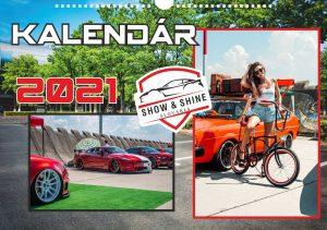 Nástenný kalendár SHOW & SHINE SLOVAKIA 2021 Darčeky