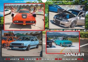 Nástenný kalendár SHOW & SHINE SLOVAKIA 2021 Darčeky [tag]